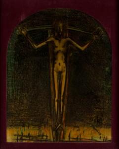 'Crucifix', 1958 Luc-Peter Crombé