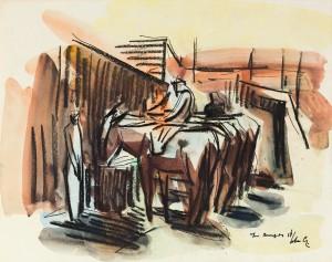 Middagrust - oogsttijd, Luc-Peter Crombé