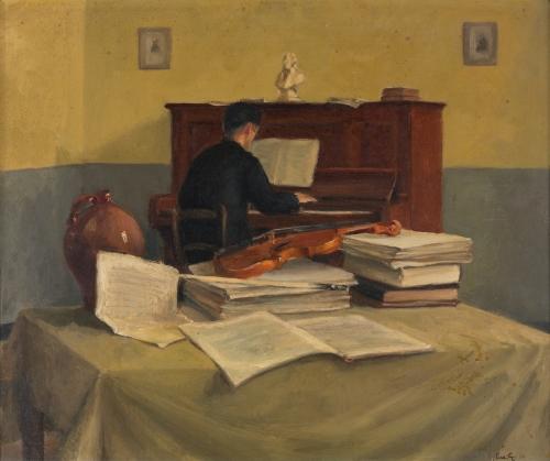 Musicerende monnik, Luc-Peter Crombé